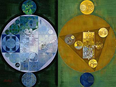 Ornamental Digital Art - Abstract Painting - Stromboli by Vitaliy Gladkiy
