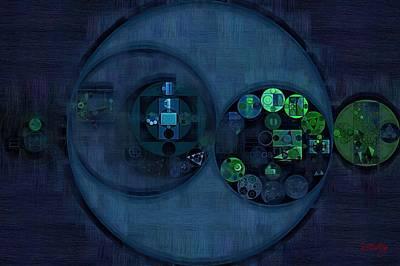 Tangaroa Digital Art - Abstract Painting - Tangaroa by Vitaliy Gladkiy