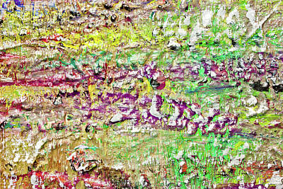 Abstract Painting5 7/09/2016 Art Print by Jacob Brewer