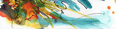 Painting - Abstract Panorama Intuitive Art by Ginette Callaway