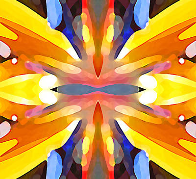 Mellow Yellow - Abstract Paradise by Amy Vangsgard