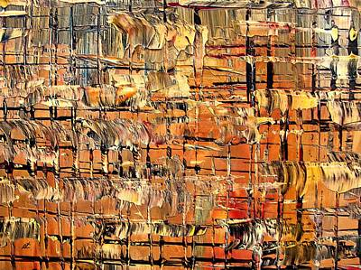 Painting - Abstract Part By Rafi Talby by Rafi Talby