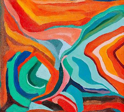 Painting - Abstract Patterns by Ida Mitchell