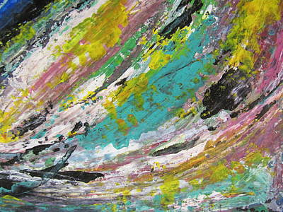 Painting - Abstract Piano 1 by Anita Burgermeister