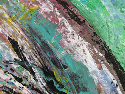 Painting - Abstract Piano 2 by Anita Burgermeister