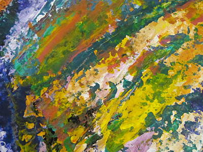 Painting - Abstract Piano 3 by Anita Burgermeister