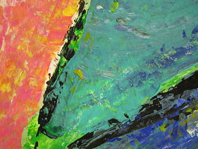 Painting - Abstract Piano 4 by Anita Burgermeister