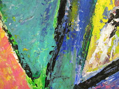 Painting - Abstract Piano 5 by Anita Burgermeister