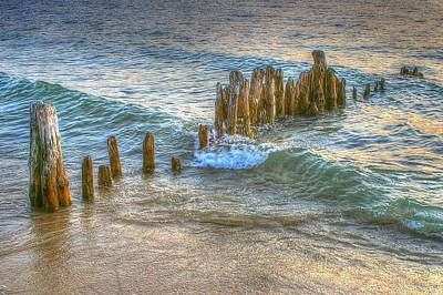 Photograph - Abstract Pier by Randy Pollard