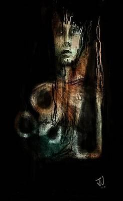 Digital Art - Abstract Portrait 04feb2017 by Jim Vance