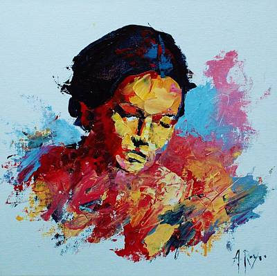 Painting - Abstract Portrait by Angel Reyes