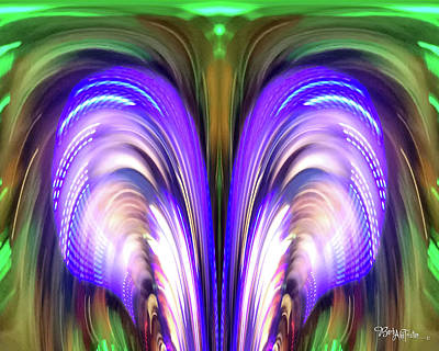 Photograph - Abstract Powerful #0609_1b by Barbara Tristan