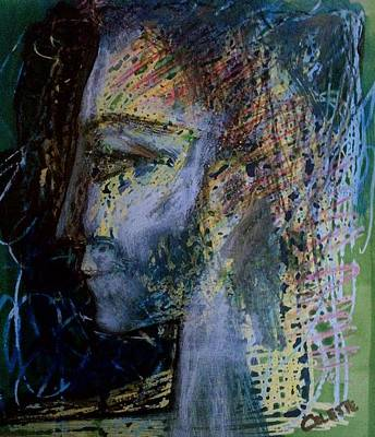 Abstract Profile Of Lady Original
