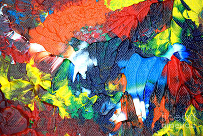 Painting - Abstract Q1112a1 by Mas Art Studio