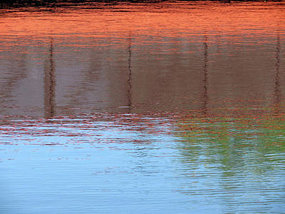 Photograph - Abstract Reflection by Laurel Powell