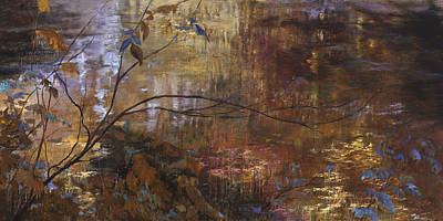 Painting - Abstract Reflections by Jan Hardenburger