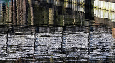 Photograph - Abstract Reflections by Shirley Mitchell