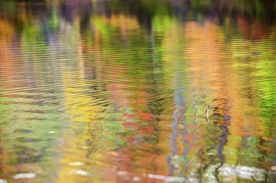 Photograph - Abstract Ripples - Wavy Colors by Gregory Ballos