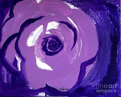 Abstract Rose Art Print by Marsha Heiken