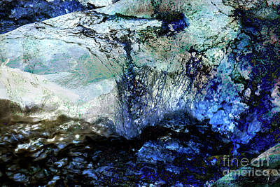 Digital Art - Abstract Runoff by Deborah Nakano