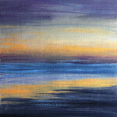 Painting - Abstract Sea 1 by Masha Batkova