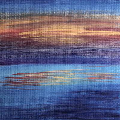 Painting - Abstract Sea 2 by Masha Batkova