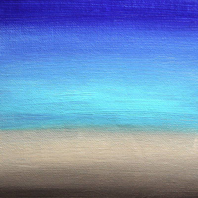 Painting - Abstract Sea 3 by Masha Batkova