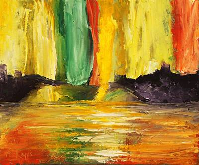 Painting - Abundance by Angel Reyes