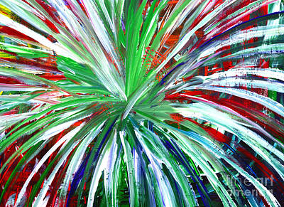 Painting - Abstract Series C1015dl by Mas Art Studio