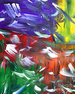 Painting - Abstract Series E1015ap by Mas Art Studio