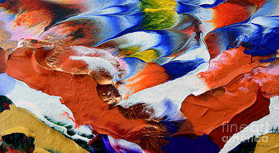 Painting - Abstract Series N1015al  by Mas Art Studio