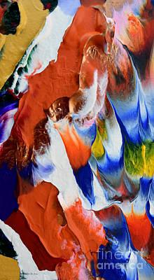 Painting - Abstract Series N1015bp Copy by Mas Art Studio