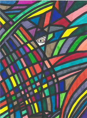 Drawing - Abstract Sight by Devrryn Jenkins