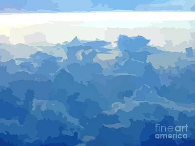 Featured Tapestry Designs - Abstract Sky  by John Malone
