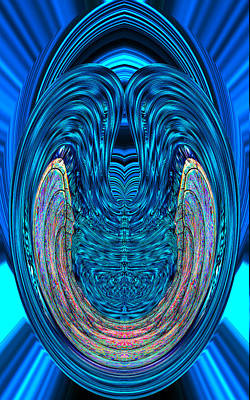 Digital Art - Abstract Smile by Bruce Iorio