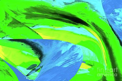 Royalty-Free and Rights-Managed Images - Abstract-Spring Breeze by Regina Geoghan
