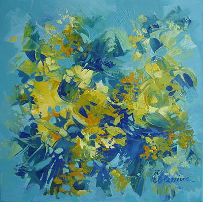 Painting - Abstract Spring by Elena Oleniuc