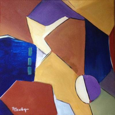 Painting - Abstract Square  by Patricia Cleasby