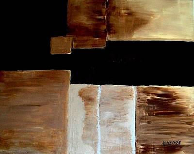Abstract Squares Art Print by Marsha Heiken