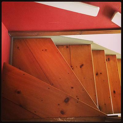 Abstract Stairs Art Print