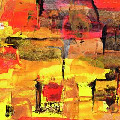 Painting - Abstract Street by Daniel Ferguson