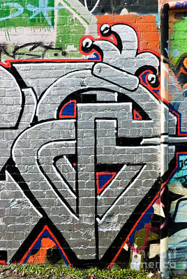 Vandalize Painting - Abstract Street Graffiti by Yurix Sardinelly