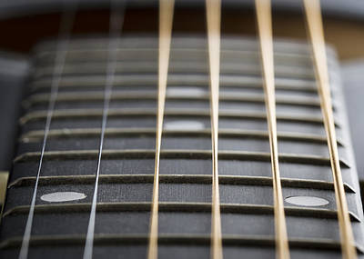 Photograph - Abstract Strings by Clare Bambers