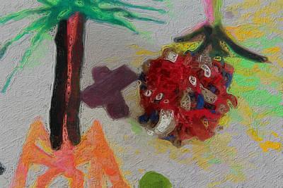 Abstract Study 132 Art Print