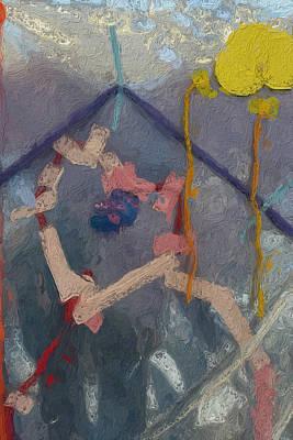 Spot Of Tea - Abstract Study 232 by Judy Bernier