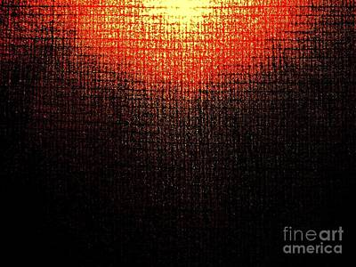 Photograph - Abstract Sun IIi by Tim Townsend