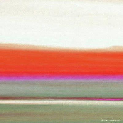 Painting - Abstract Sunset 63 by Gina De Gorna