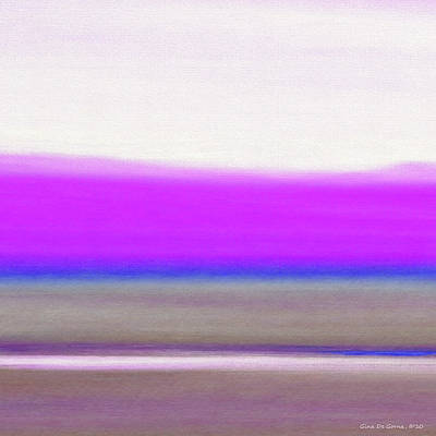 Abstract Sunset 65 Art Print