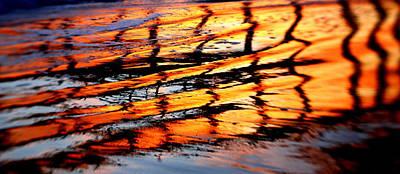 Sunset Abstract Photograph - Abstract Sunset by Bill Keiran
