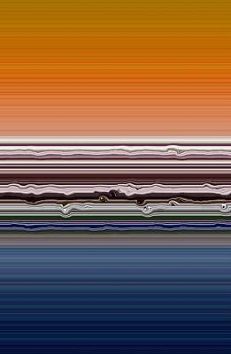 Photograph - Abstract Sunset by Michelle Calkins
